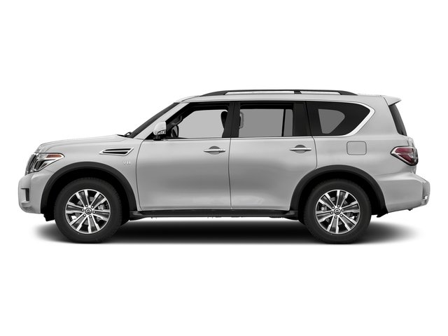 Brilliant Silver 2018 Nissan Armada Pictures Armada 4x2 SL photos side view