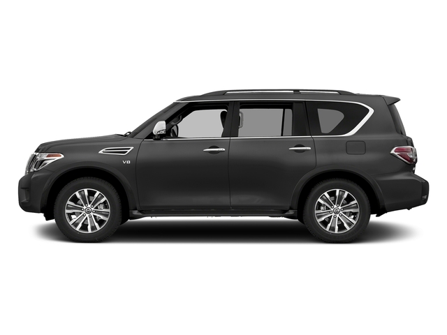 Gun Metallic 2018 Nissan Armada Pictures Armada 4x2 SL photos side view