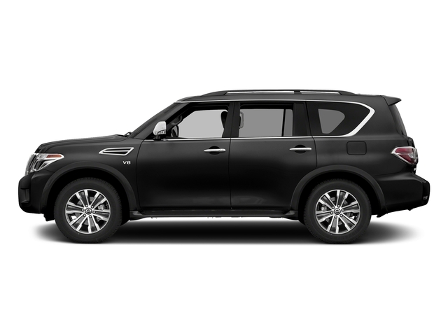 Super Black 2018 Nissan Armada Pictures Armada 4x2 SL photos side view