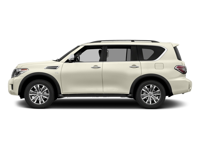Pearl White 2018 Nissan Armada Pictures Armada 4x2 SL photos side view
