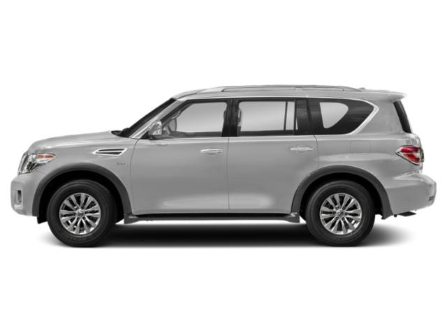 Brilliant Silver 2018 Nissan Armada Pictures Armada Utility 4D SV AWD V8 photos side view