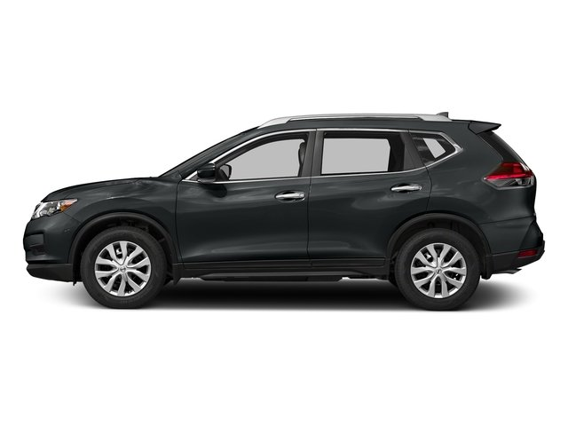 Magnetic Black 2018 Nissan Rogue Pictures Rogue FWD S photos side view