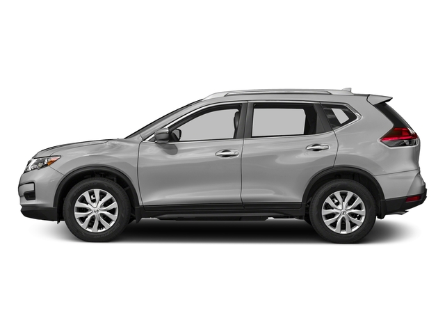Brilliant Silver 2018 Nissan Rogue Pictures Rogue FWD S photos side view