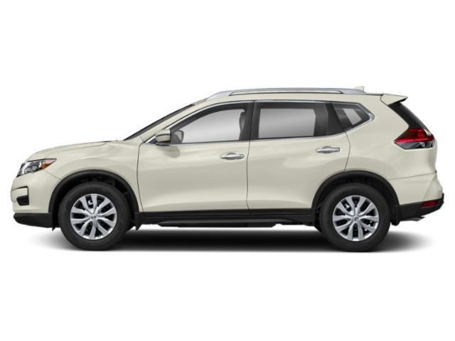 Glacier White 2018 Nissan Rogue Pictures Rogue Utility 4D SV 2WD I4 photos side view