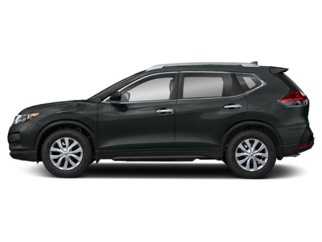 Magnetic Black 2018 Nissan Rogue Pictures Rogue Utility 4D SV 2WD I4 photos side view