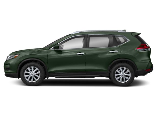 Midnight Pine 2018 Nissan Rogue Pictures Rogue Utility 4D SV 2WD I4 photos side view