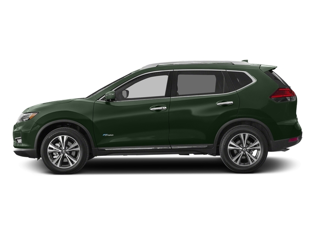 Midnight Pine 2018 Nissan Rogue Pictures Rogue FWD SL Hybrid photos side view