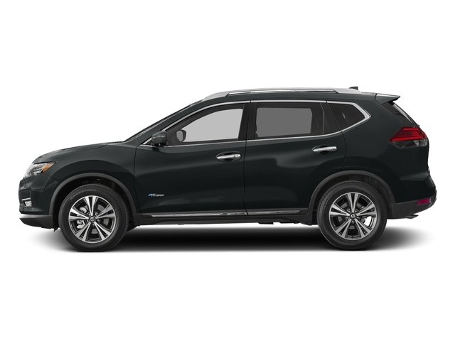 Magnetic Black 2018 Nissan Rogue Pictures Rogue FWD SL Hybrid photos side view
