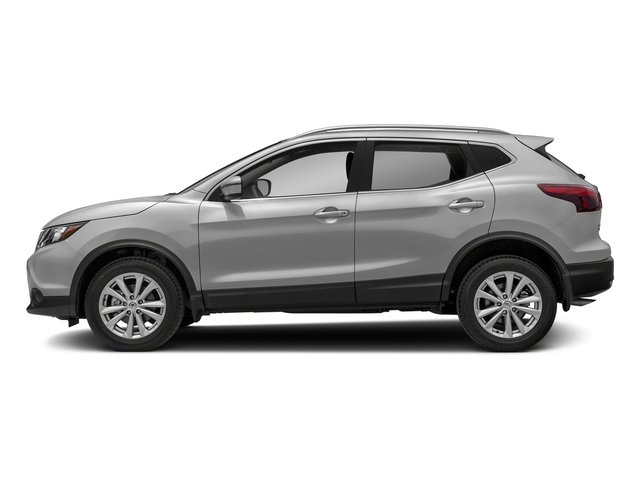 Brilliant Silver 2018 Nissan Rogue Sport Pictures Rogue Sport 2018.5 AWD SV photos side view
