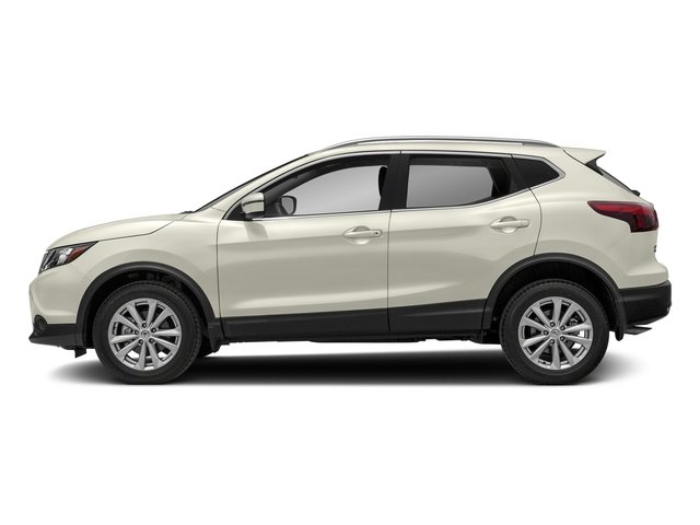 Glacier White 2018 Nissan Rogue Sport Pictures Rogue Sport FWD S photos side view