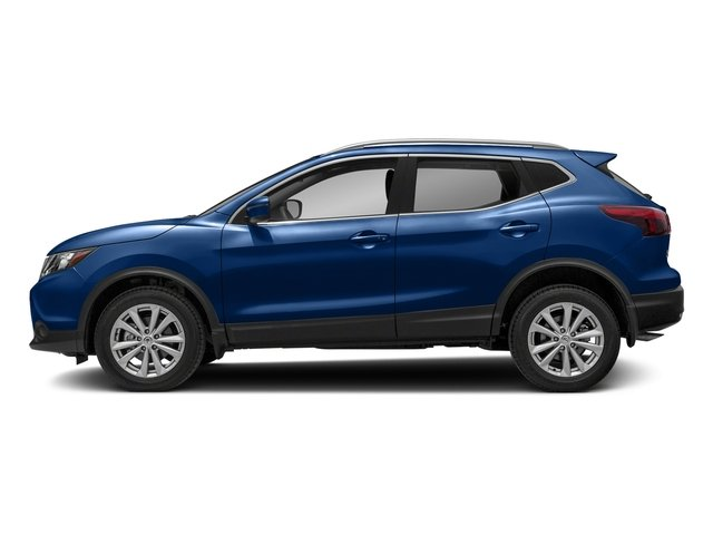 Caspian Blue 2018 Nissan Rogue Sport Pictures Rogue Sport 2018.5 AWD SV photos side view