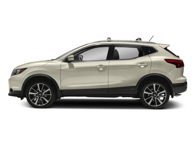 Pearl White 2018 Nissan Rogue Sport Pictures Rogue Sport Utility 4D SL AWD photos side view