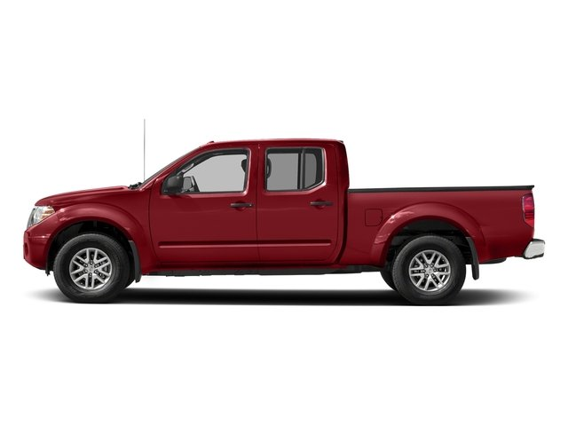 Lava Red 2018 Nissan Frontier Pictures Frontier Crew Cab 4x2 SV V6 Auto Long Bed photos side view