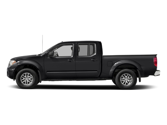 Magnetic Black 2018 Nissan Frontier Pictures Frontier Crew Cab 4x2 SV V6 Auto Long Bed photos side view