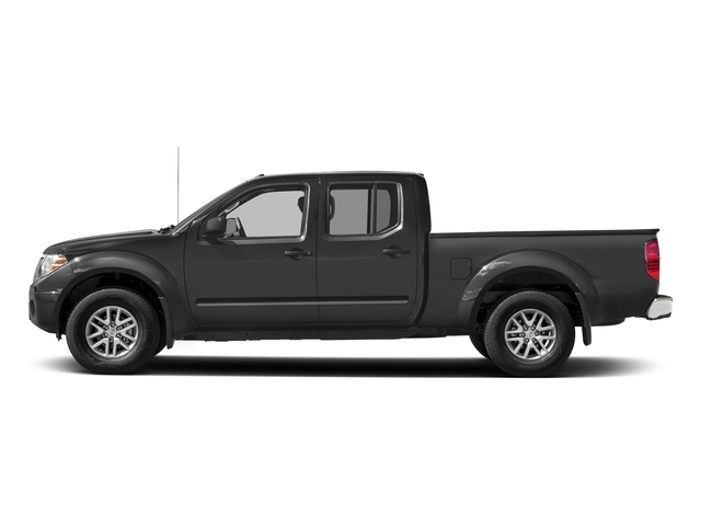 Gun Metallic 2018 Nissan Frontier Pictures Frontier Crew Cab 4x2 SV V6 Auto Long Bed photos side view
