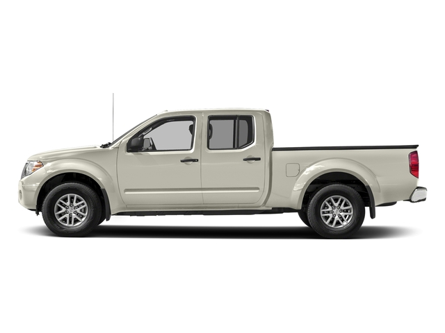 Glacier White 2018 Nissan Frontier Pictures Frontier Crew Cab 4x2 SV V6 Auto Long Bed photos side view