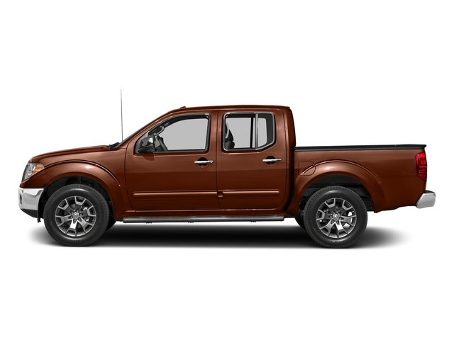 Forged Copper 2018 Nissan Frontier Pictures Frontier Crew Cab SL 4WD photos side view