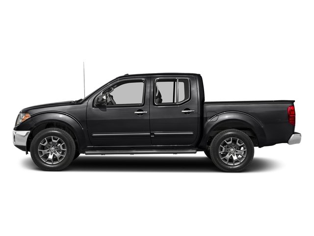 Magnetic Black 2018 Nissan Frontier Pictures Frontier Crew Cab SL 4WD photos side view