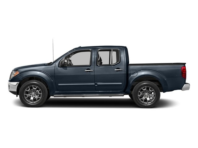 Arctic Blue Metallic 2018 Nissan Frontier Pictures Frontier Crew Cab SL 2WD photos side view