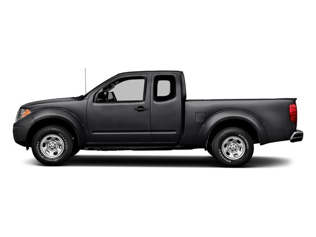 Magnetic Black 2018 Nissan Frontier Pictures Frontier King Cab 4x2 S Auto photos side view