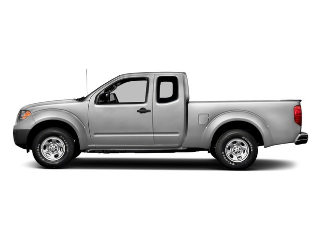 Brilliant Silver 2018 Nissan Frontier Pictures Frontier King Cab 4x2 S Auto photos side view