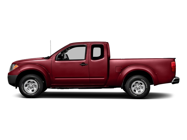 Cayenne Red 2018 Nissan Frontier Pictures Frontier King Cab 4x2 S Auto photos side view