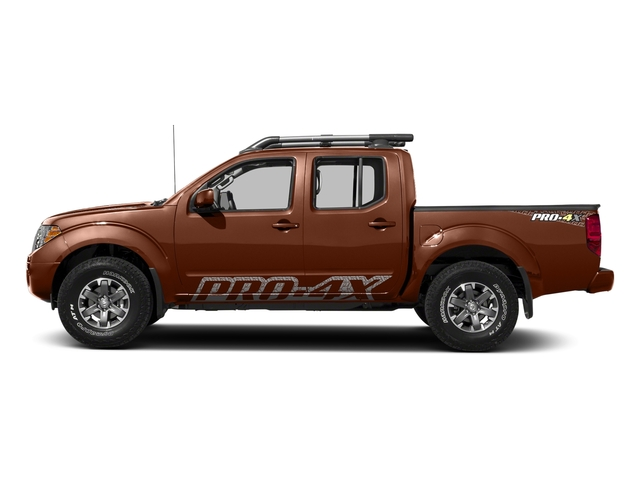 Forged Copper 2018 Nissan Frontier Pictures Frontier Crew Cab 4x4 PRO-4X Manual photos side view