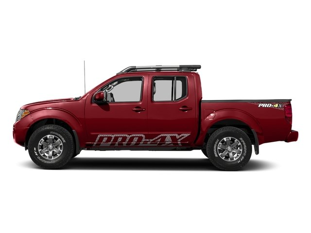 Lava Red 2018 Nissan Frontier Pictures Frontier Crew Cab 4x4 PRO-4X Manual photos side view