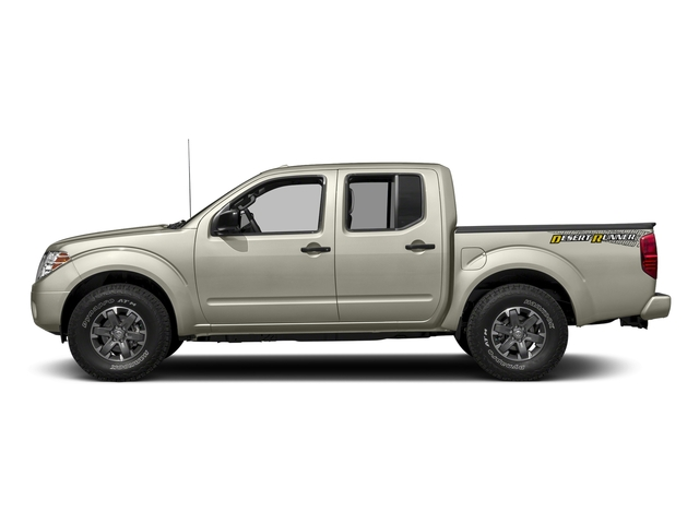 Glacier White 2018 Nissan Frontier Pictures Frontier Crew Cab Desert Runner 2WD photos side view