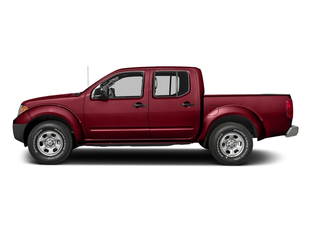 Cayenne Red 2018 Nissan Frontier Pictures Frontier Crew Cab 4x4 S Auto photos side view