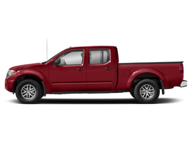 Lava Red 2018 Nissan Frontier Pictures Frontier Crew Cab SV 4WD photos side view