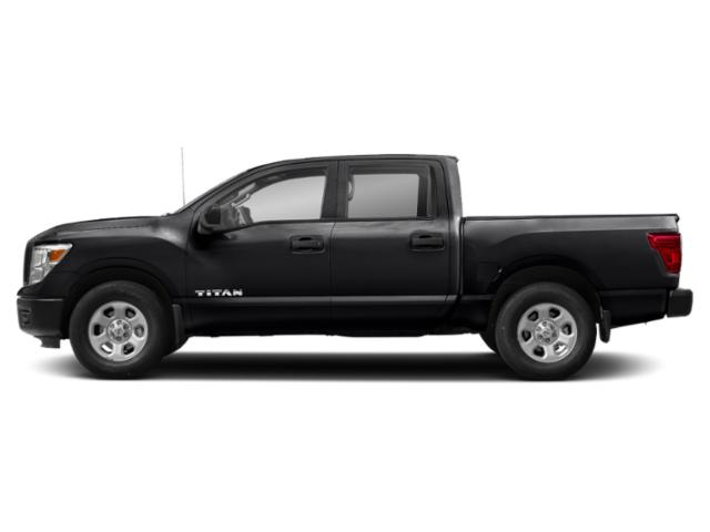 Magnetic Black 2018 Nissan Titan Pictures Titan 4x2 Crew Cab S photos side view