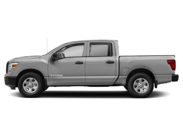 Brilliant Silver 2018 Nissan Titan Pictures Titan 4x2 Crew Cab S photos side view
