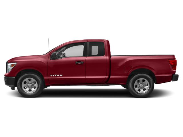 Cayenne Red 2018 Nissan Titan Pictures Titan 4x4 King Cab S photos side view