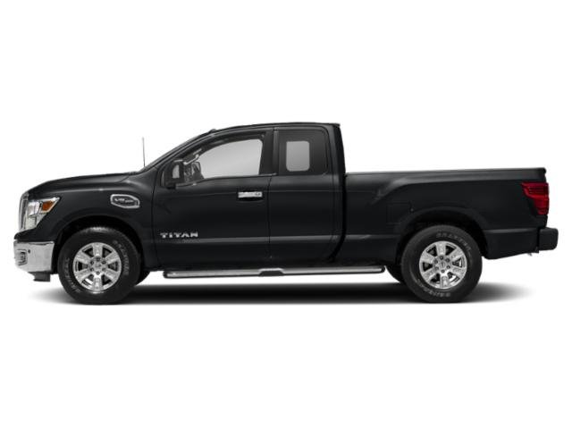 Magnetic Black 2018 Nissan Titan Pictures Titan 4x2 King Cab SV photos side view