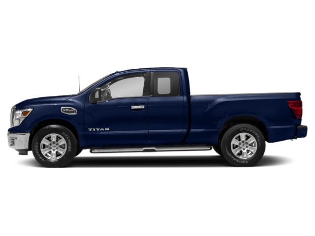 Deep Blue Pearl 2018 Nissan Titan Pictures Titan 4x2 King Cab SV photos side view