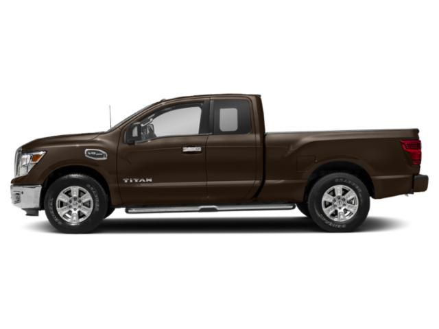 Java Metallic 2018 Nissan Titan Pictures Titan 4x2 King Cab SV photos side view