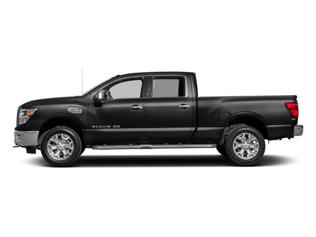 Magnetic Black 2018 Nissan Titan XD Pictures Titan XD 4x2 Diesel Crew Cab SL photos side view