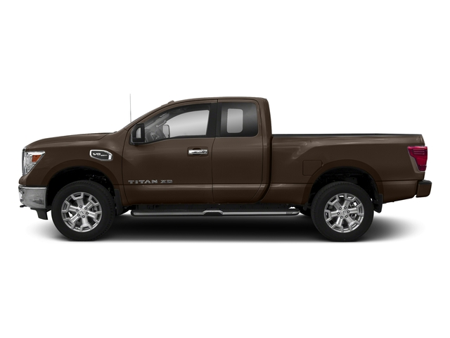 Java Metallic 2018 Nissan Titan XD Pictures Titan XD Extended Cab SV 2WD photos side view