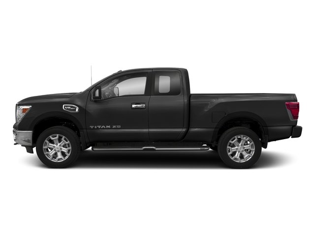 Gun Metallic 2018 Nissan Titan XD Pictures Titan XD 4x2 Gas King Cab S photos side view