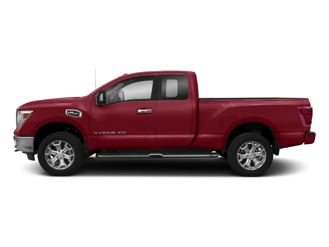 Cayenne Red 2018 Nissan Titan XD Pictures Titan XD 4x4 Diesel King Cab PRO-4X photos side view