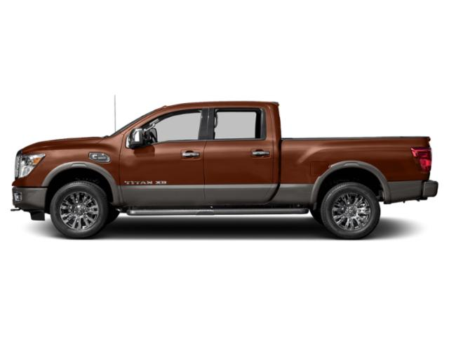 Forged Copper 2018 Nissan Titan XD Pictures Titan XD Crew Cab Platinum Reserve 2WD photos side view