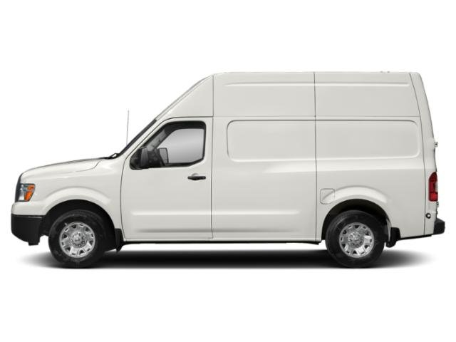 Glacier White 2018 Nissan NV Cargo Pictures NV Cargo NV2500 HD High Roof V6 S photos side view