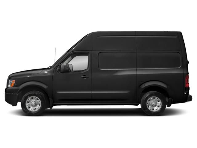Super Black 2018 Nissan NV Cargo Pictures NV Cargo NV2500 HD High Roof V6 S photos side view