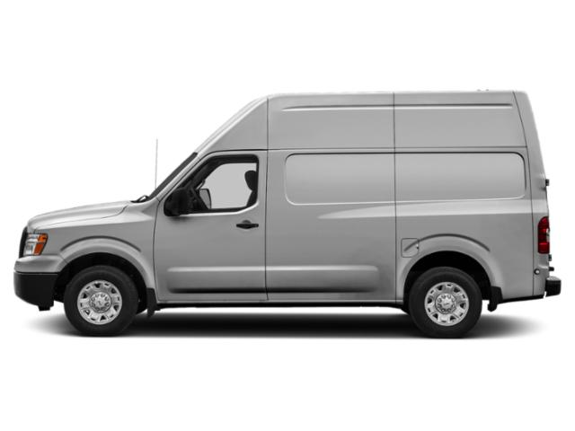 Brilliant Silver 2018 Nissan NV Cargo Pictures NV Cargo NV3500 HD High Roof V8 S photos side view