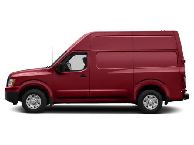 Cayenne Red 2018 Nissan NV Cargo Pictures NV Cargo NV3500 HD High Roof V8 SL photos side view