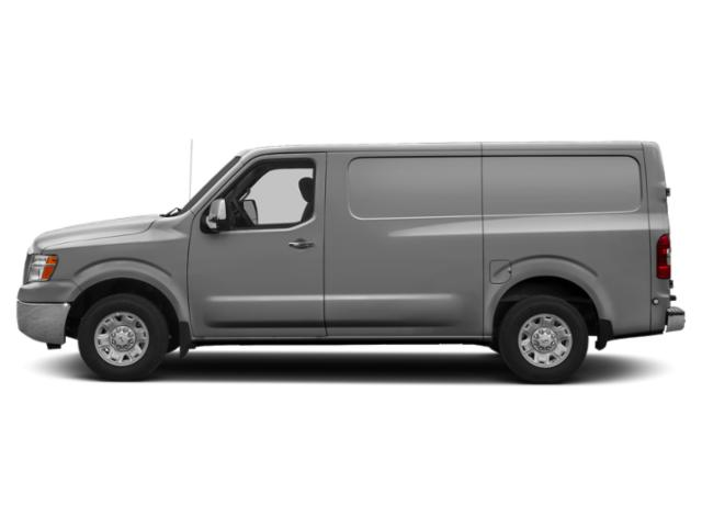 Brilliant Silver 2018 Nissan NV Cargo Pictures NV Cargo NV3500 HD Standard Roof V8 S photos side view