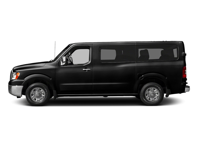 Super Black 2018 Nissan NV Passenger Pictures NV Passenger V6 HD S photos side view