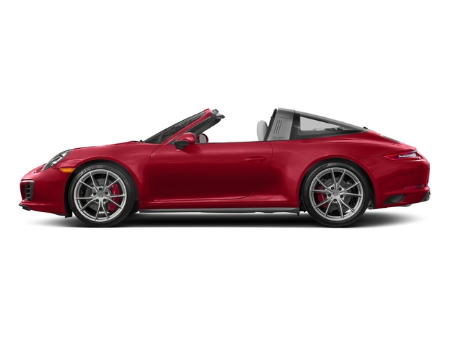Carmine Red 2018 Porsche 911 Pictures 911 Targa 4 GTS photos side view