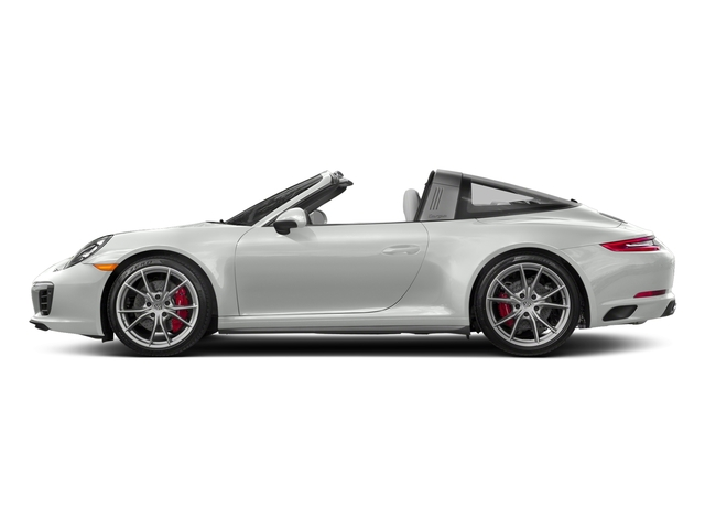 White 2018 Porsche 911 Pictures 911 Targa 4 GTS photos side view